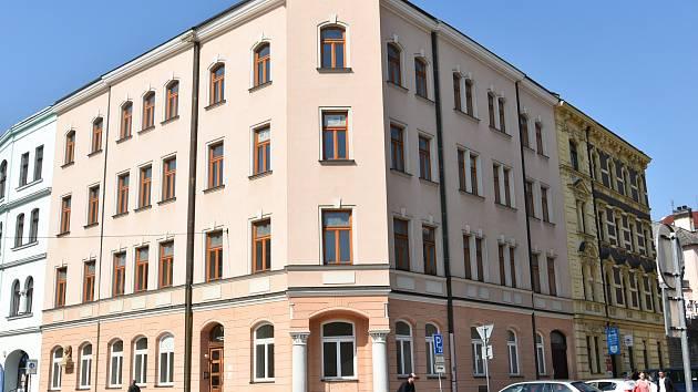 Bývalé vysokoškolské koleje Marie Kudeříkové v Kateřinské ulici v Olomouci