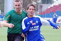 Tomáš Pospíšil (vpravö) v dresu juniorky Sigmy