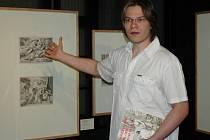 Patrik Šimon (na snímku) sbírá Berglerovo dílo od roku 1989.