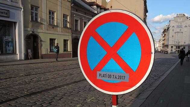 Třídu 1.máje v Olomouci čeká více než půlroční uzavírka a oprava