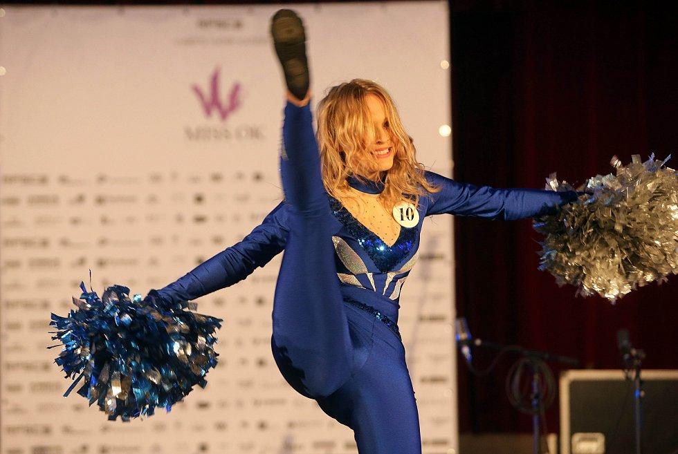 Simona Kamešová. Semifinále 6.ročníku soutěže Miss OK ve Velké Bystřici.