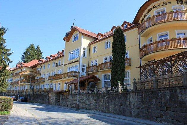 Lázeňský léčebný dům Praha vLuhačovicích