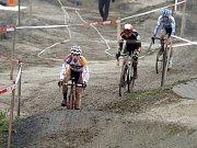 V Uničově se konal poslední závod českého poháru v cyklokrosu. Marcel Meisen
