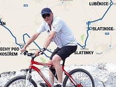 S hejtmanem na kole Olomouckým krajem