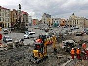 Rekonstrukce Dolního náměstí v Olomouci