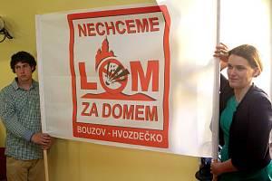 Veřejné projednávání záměru těžby vápence v prostoru Hvozdečko.