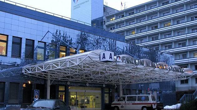 Budova urgentního příjmu fakultní nemocnice v Olomouci