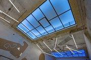 """SM.ART hotel Nezvalova Archa v Olomouci. Autor Ing. Arch. David Helcel. Na snímku """"Slunce v podpalubí"""""""