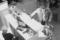 Přepadení herny v Masarykově ulici