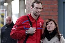 Příjezd české fotbalové reprezentace do Olomouce
