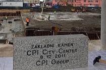 Poklepání základního kamene CPI City Center a hotelu Clarion