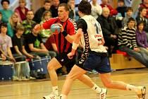 Tatran Litovel (v bílém) proti STM Olomouc