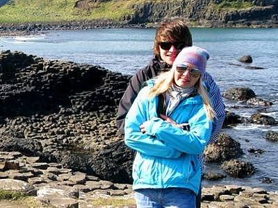 Olomoučanka Terezie Dokoupilová s přítelem na výletě po irské krajině
