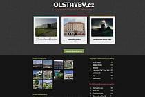 Web mapující stavební ruch v Olomouci