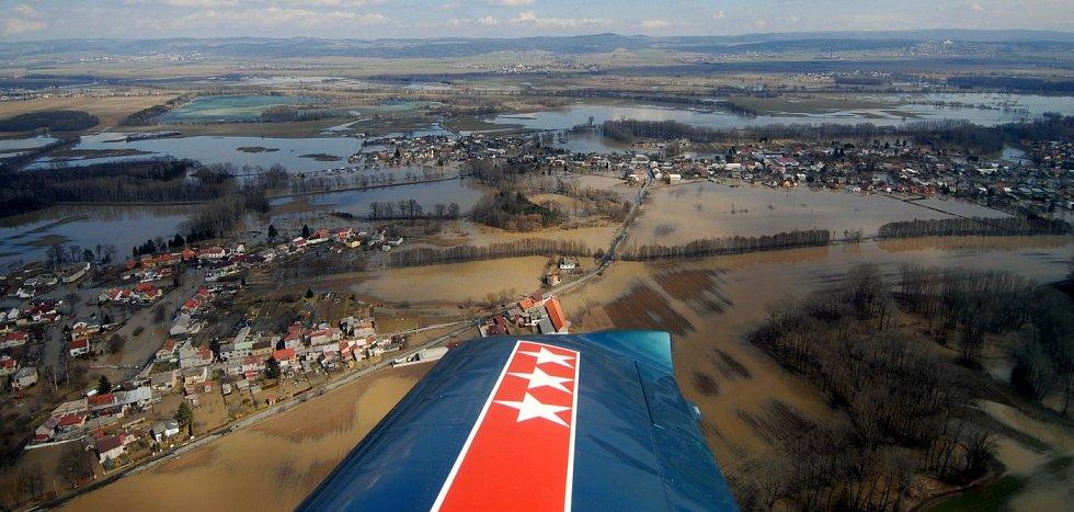 2. dubna 2006, Morava mezi Litovlí a Olomoucí