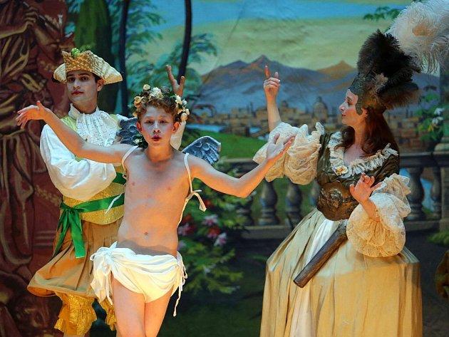 Barokní opera souboru Ensemble Damian. Ilustrační foto