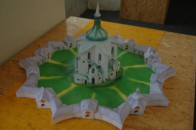 Modely hradů a zámků. Ilustrační foto
