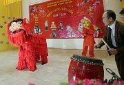 Oslavy Vietnamského Nového roku v Olomouci.