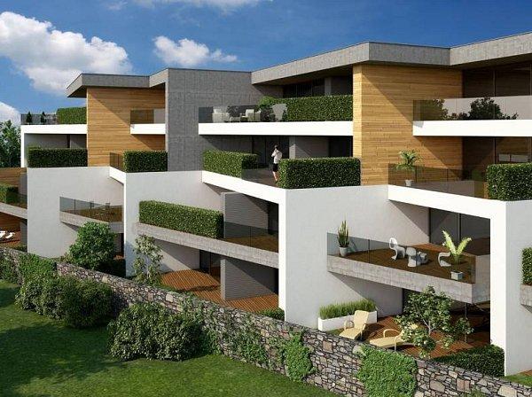 Rezidence Uparku - vizualizace bytových domů na Lazcích