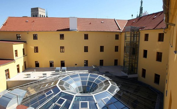 Rekonstruovaný Salmův palác vOlomouci