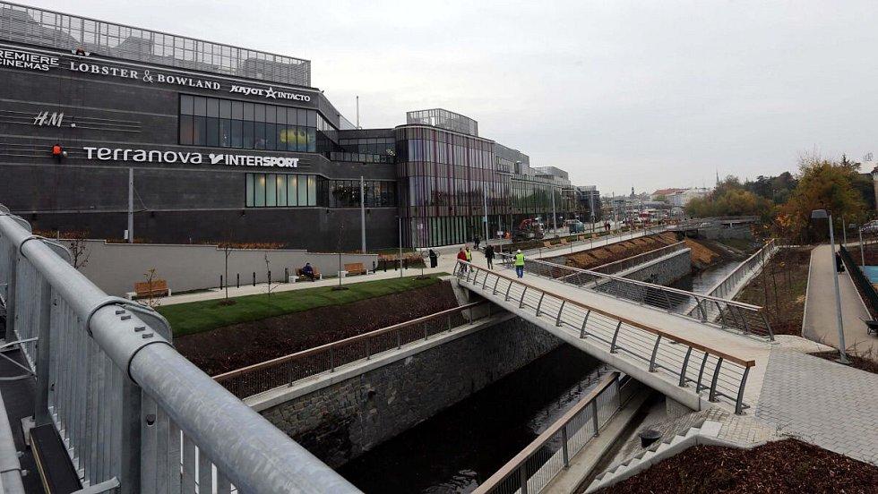 Obchodní centrum Šantovka v Olomouci