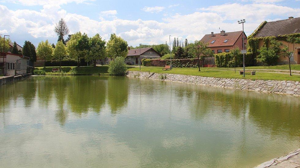 Rybník v Břuchotíně