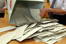 Sčítání hlasů v prezidentských volbách. Ilustrační foto