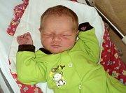 Filip Kutal, Mohelnice, narozen 29. srpna ve Šternberku, míra 53 cm, váha 4000 g