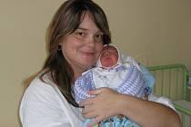 Tomáš Mudroch, narozen 18.11.2007 v Olomouci, váha: 2560 g, míra: 46 cm, Přerov