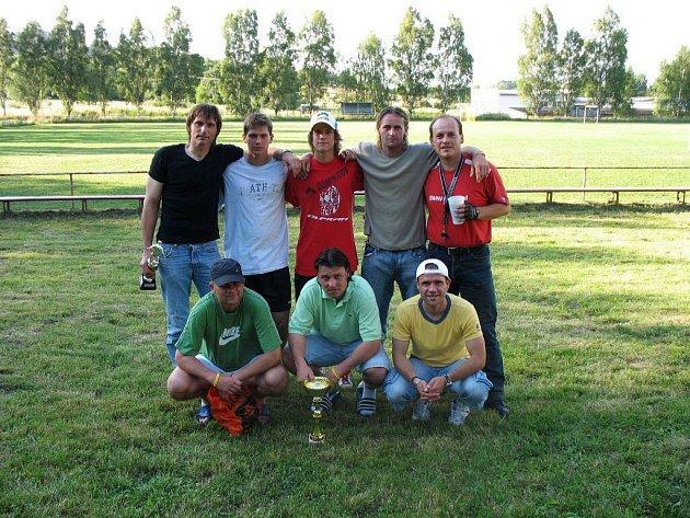 Olomoucký tým Olpran, vítěz turnaje.