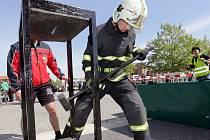 Soutěž o nejtvrdšího hasiče - závod TFA u olomouckého RCO