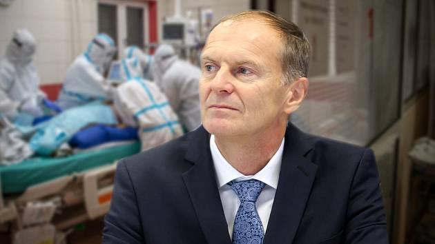 Roman Havlík, ředitel Fakultní nemocnice Olomouc a krajský koordinátor covidové péče