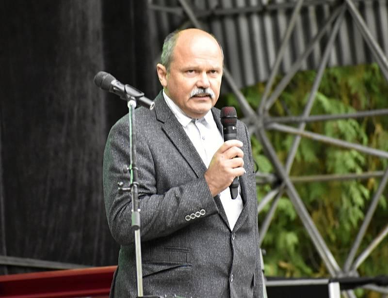 Svátek krajských zemědělců v podobě Dožínek se konal v Náměšti na Hané, 19. 9. 2021
