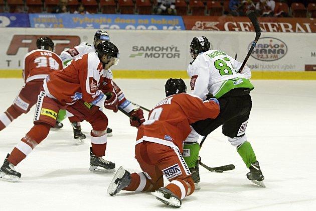 Olomoučtí hokejisté v utkání 11. kola extraligy přivítali Mladou Boleslav