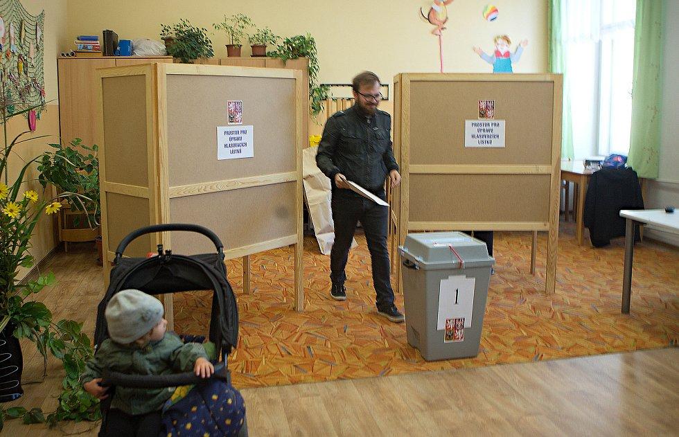 Komunální volby 2018 na ZŠ sv. Voršily v Olomouci