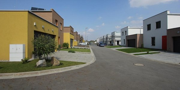 Vítěz kategorie Stavby určené kbydlení a rekreaci: Olomouc – Arbesova, výstavba RD