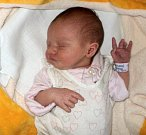 Gabriela Kadalová, Velká Bystřice, narozena 1. února v Olomouci, míra 49 cm, váha 3000 g