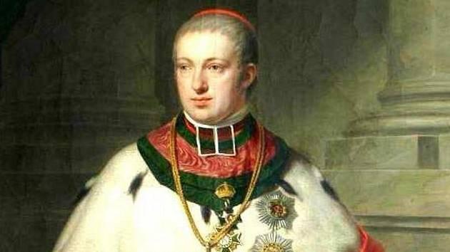 Olomoucký arcibiskup Rudolf Jan