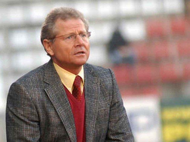 Olomoucký trenér Vlastimil Petržela.