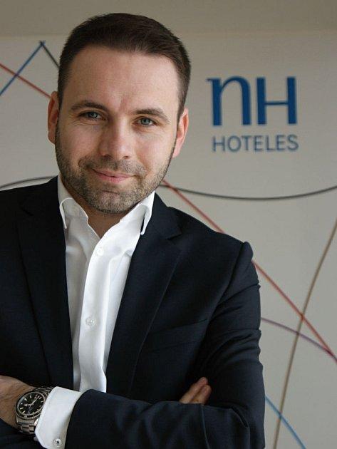 Generální ředitel olomouckého NH hotelu Tomáš Rousek