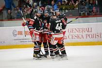 Hokejisté HC Olomouc porazili doma po nájezdech Spartu 4:3.