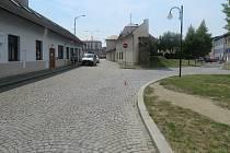 V Koželužské ulici v Olomouci srazilo auto cyklistu