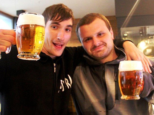 Pivní maraton. Ilustrační foto