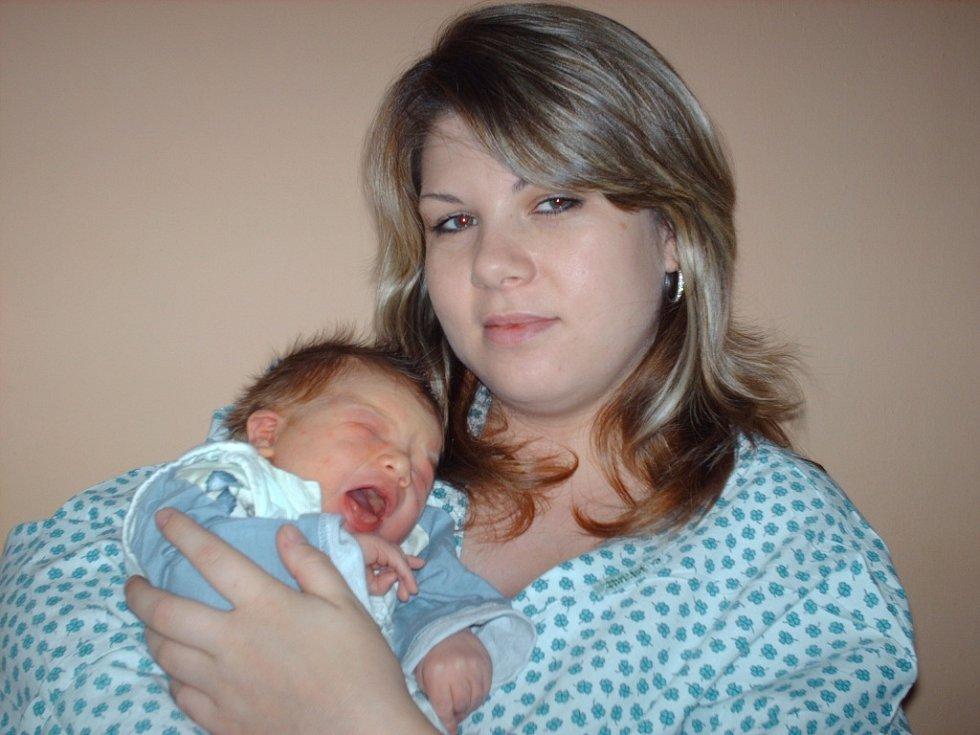 Kryštof Petrovský, narozen 6.11.2007 ve Šternberku , váha: 3800 g, míra: 51 cm, Uničov