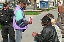 Bezdomovci na třídě Svobody