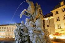 Caesarova kašna v Olomouci