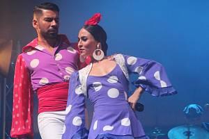 Colores Flamencos v Olomouci - galavečer. Ilustrační foto