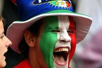 Fanoušek Itálie. Ilustrační foto