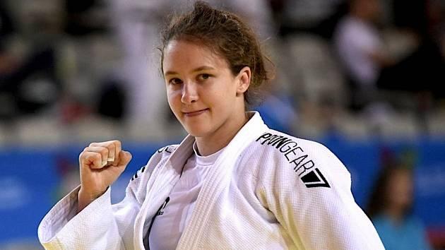 Renata Zachová z Judo Klubu Olomouc.