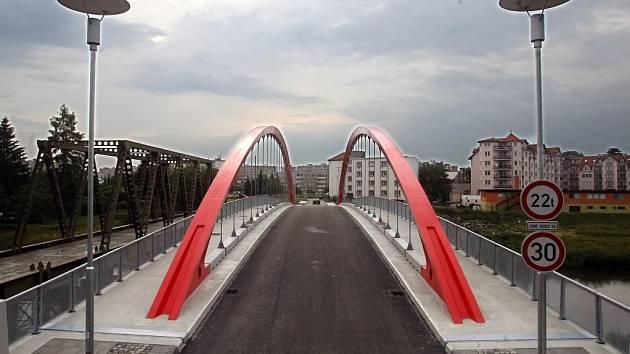 Nový most u kojeňáku.